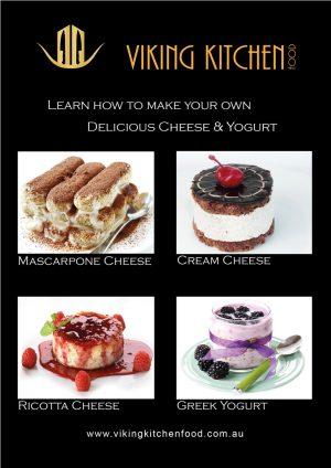 Mascarpone Cream Cheese Ricotta and Greek Yogurt